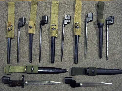 British WW2 Bayonet Collection