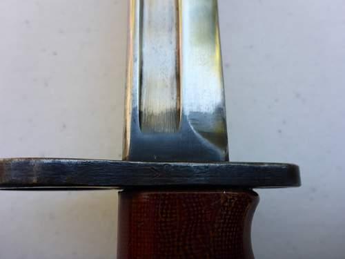 Canadian issued No7 MkI Bayonet