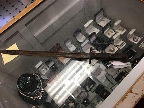 Ww1 Bayonet Identification