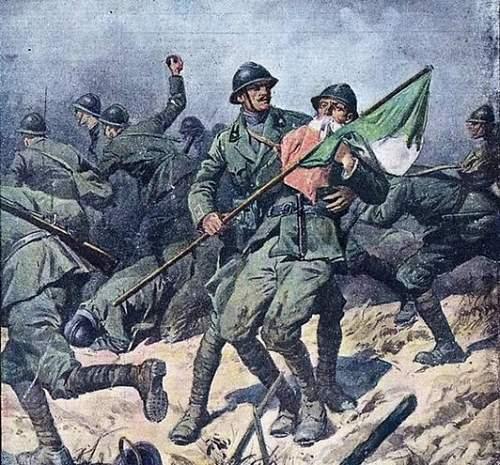 1917 Italian First tipe ARDITI Combat Knife