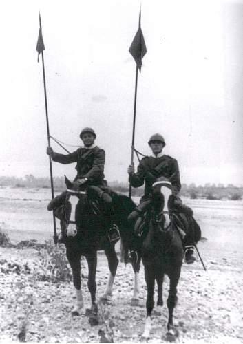 Italian Cavalry Troop  Saber  model 1888
