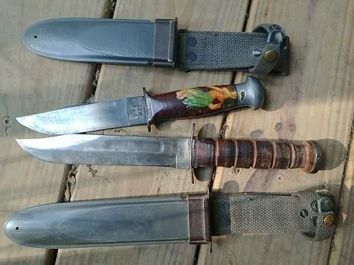 MK1 and MK2 knives
