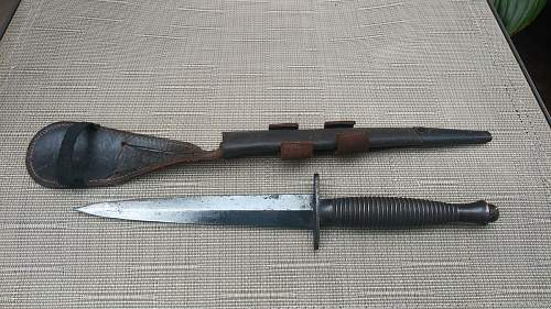 British Fairbairn Sykes Knife ?