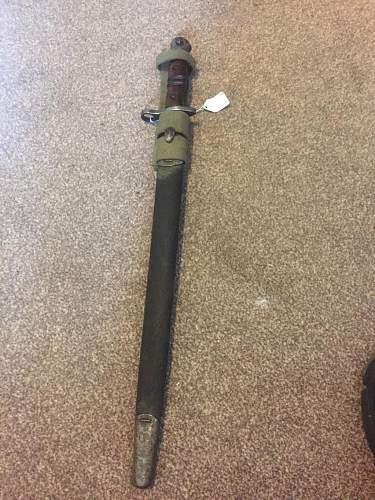 British Enfield Pattern 1913 bayonet - Remington - History ?