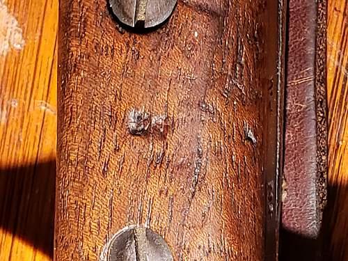 Canadian Ross rifle bayonet