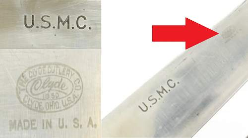 US Corpsman knife help please
