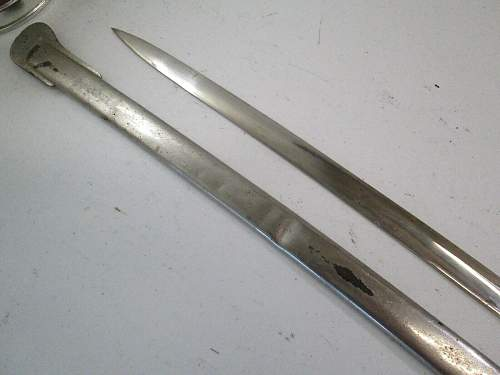 Ww1 prussian sword real or fake ?