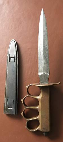 USA WW1 fighting knife or is it?