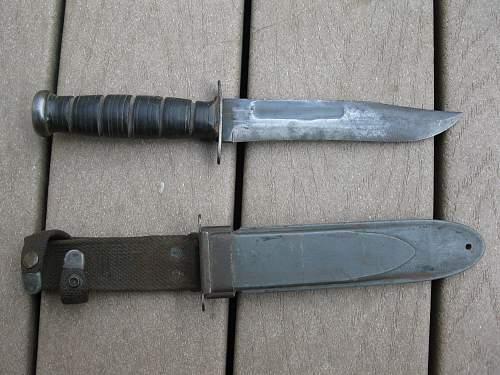 KA-BAR without USMC on the blade?