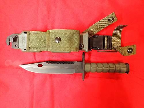 US M9 Buck 188 Bayonet Help Please