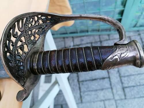U S sword