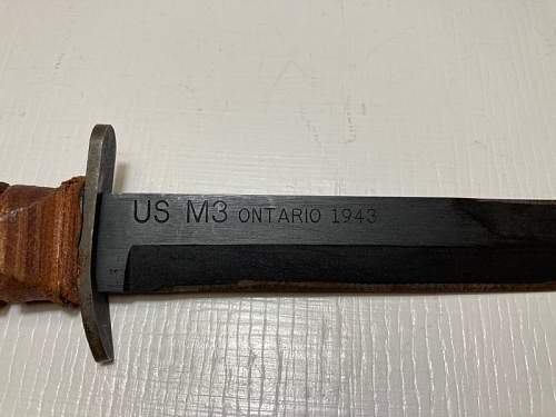 US M3 Fighting Knife opinions please