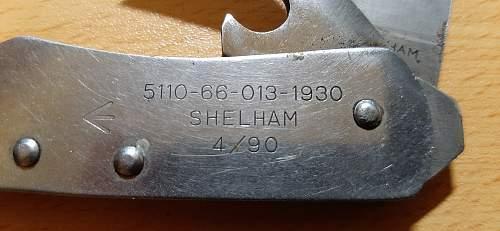 "Camillus ""US"" pocket knife"
