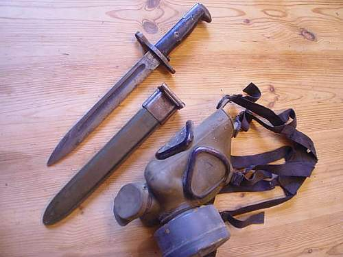 M1 Garand bayonet with markings,but no year of production?  WW2 or not?