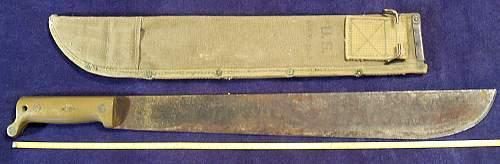 Abandoned house find.. TrueTemper machete