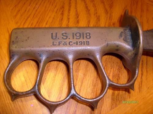 1918 u.s trench knife