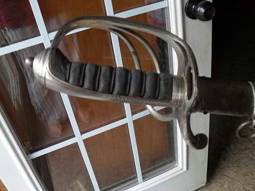 Sword I inherited