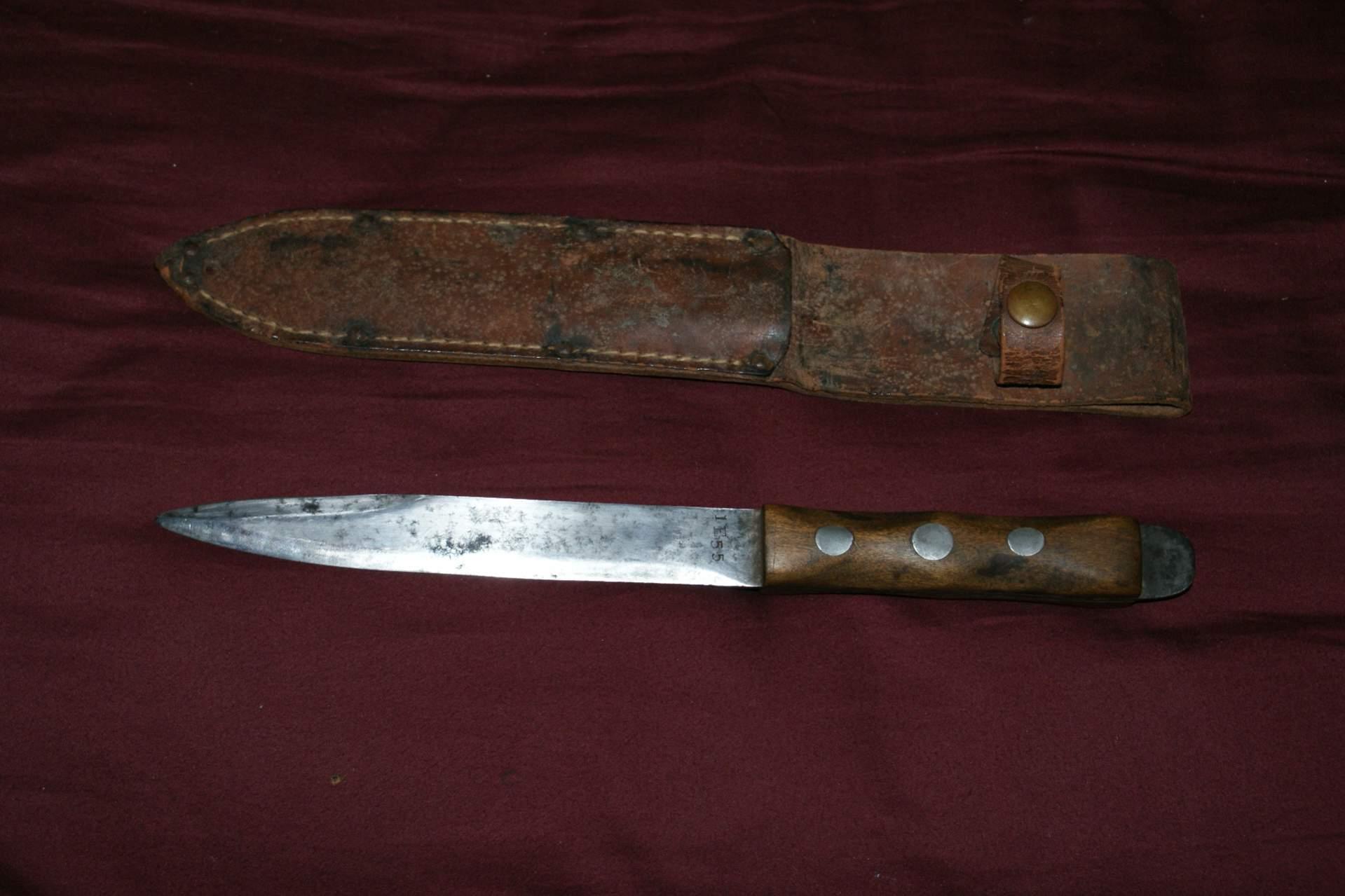 wwii #1 pattern John Ek knife