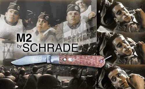 Schrade M2 Paratrooper jump knife