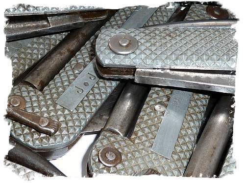 Navy Jack Knives.