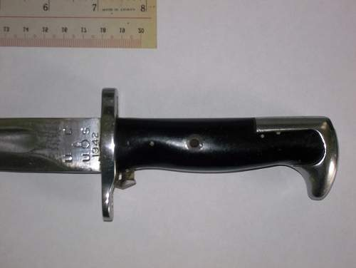Help needed with bayonet identification