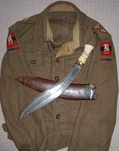 Ww2 Gurkha Kukri