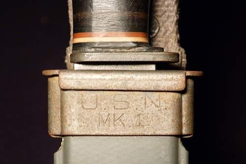 US Navy Mark 1 Knife
