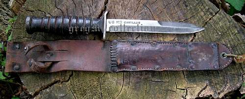 US fighting knives