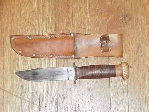 Wood Pommel USN MK1