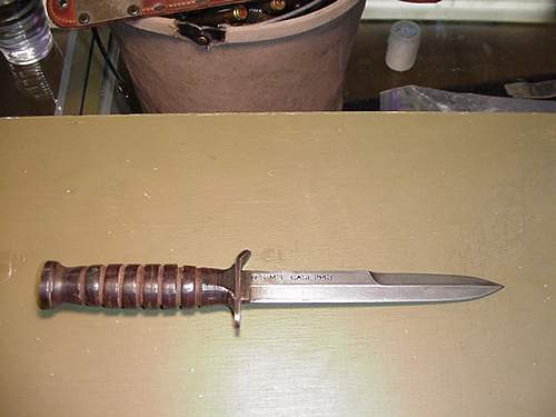 Blade Dated M3 fighting knife