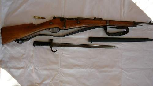 French Model 1874 Gras bayonet