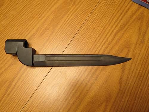 Help identifying a Bayonet?