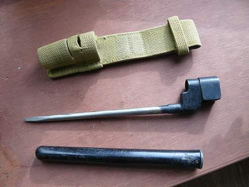 No.4 Rifle spike bayonet