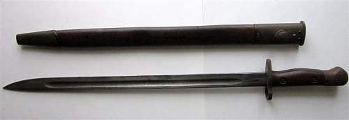 with information about this 16 and three quarter inch bayonet