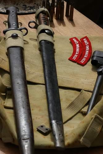 British Pattern 1913 P14 Bayonet