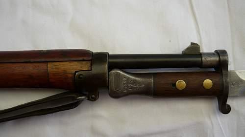 British 1888 bayo