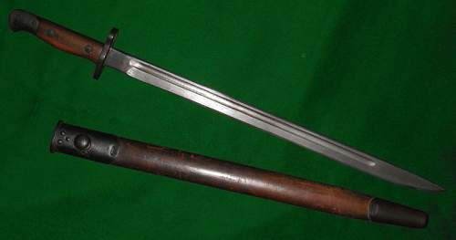 Sanderson 1907 SMLE bayonet
