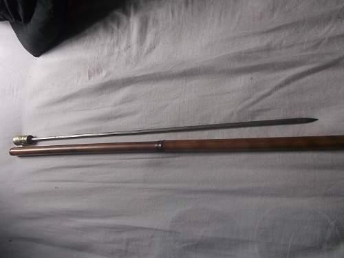 Sword Bamboo Canes