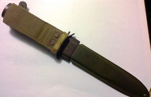 US M3 Imperial Fighting knife
