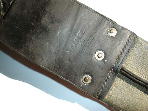 Machete made by Martindale