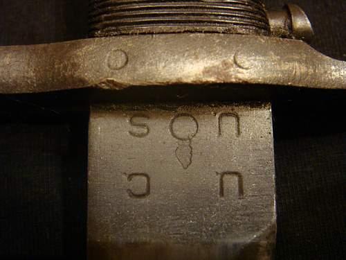 M1 garand bayonet normandy