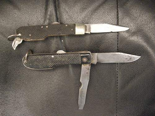 S.O.E. Tyre slashing Knife