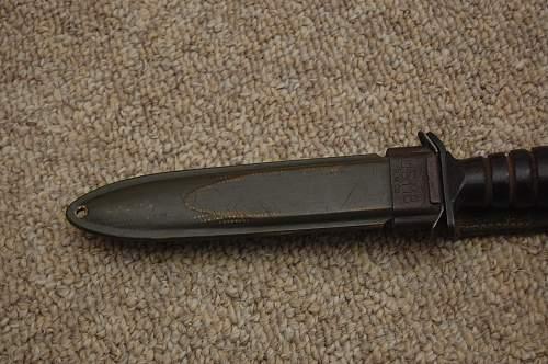 US M3 knife