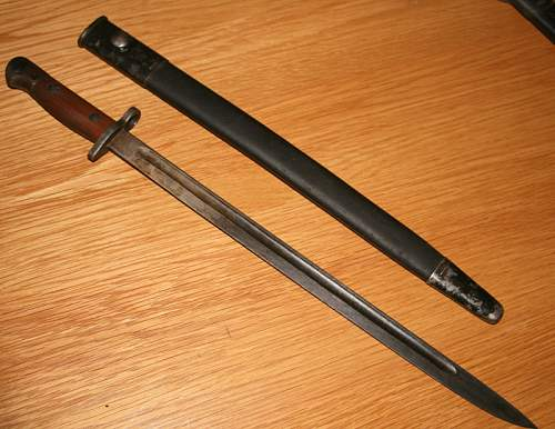 Help with unmarked SMLE Bayonet
