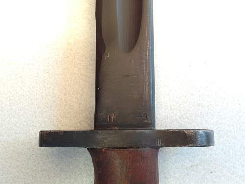 Australian Owen gun bayonet for review