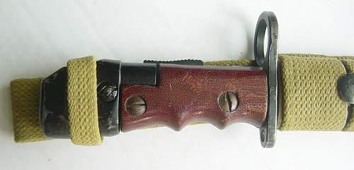 The No7 MkI Land Service Bayonet