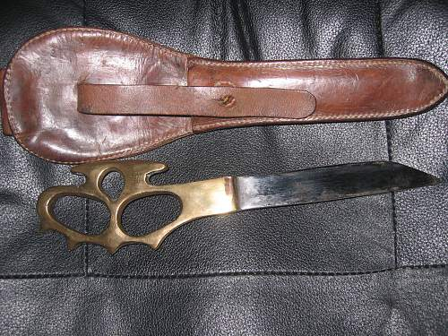 No.50-52 Commando Knuckleduster Knife
