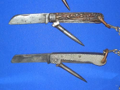 Royal Naval Jack Knives