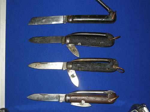 British Army Jack Knives 1880-1979
