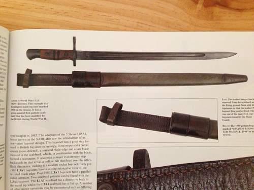 m1917 bayonet markings have got me confused!